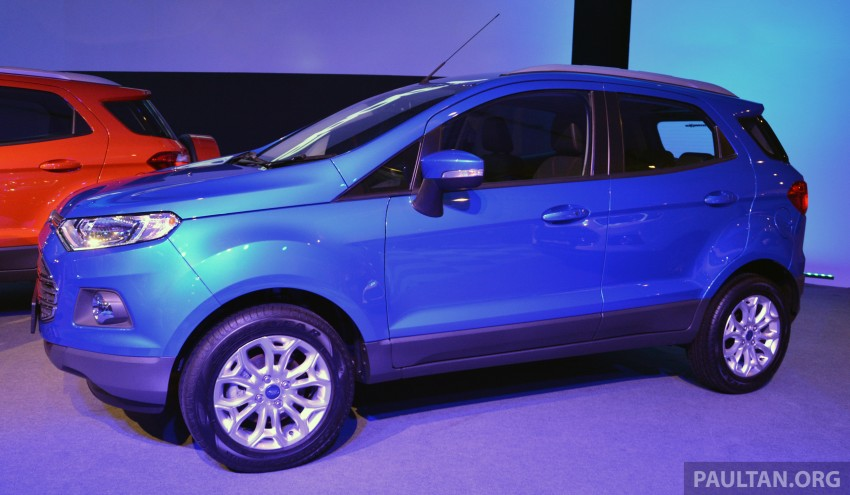 Ford EcoSport launched in Malaysia – RM93k-RM104k Image #266203