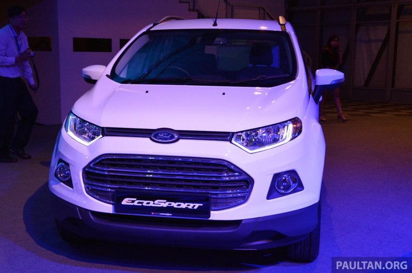 Ford EcoSport launched in Malaysia – RM93k-RM104k Image #266185