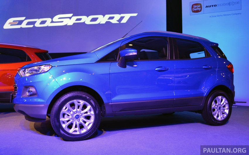 Ford EcoSport launched in Malaysia – RM93k-RM104k Image #266186