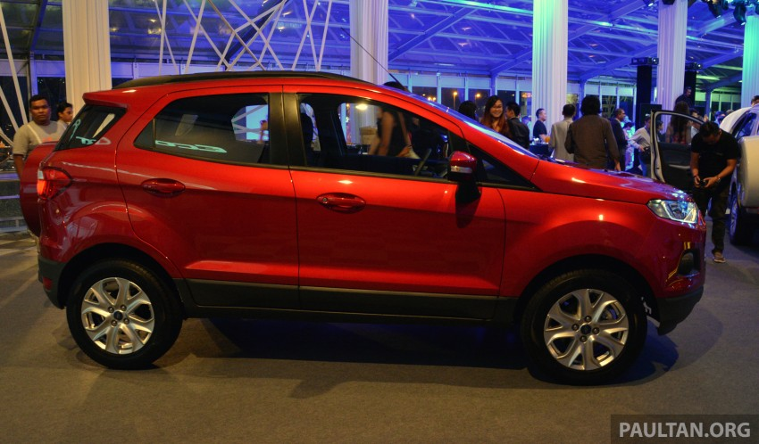Ford EcoSport launched in Malaysia – RM93k-RM104k Image #266190