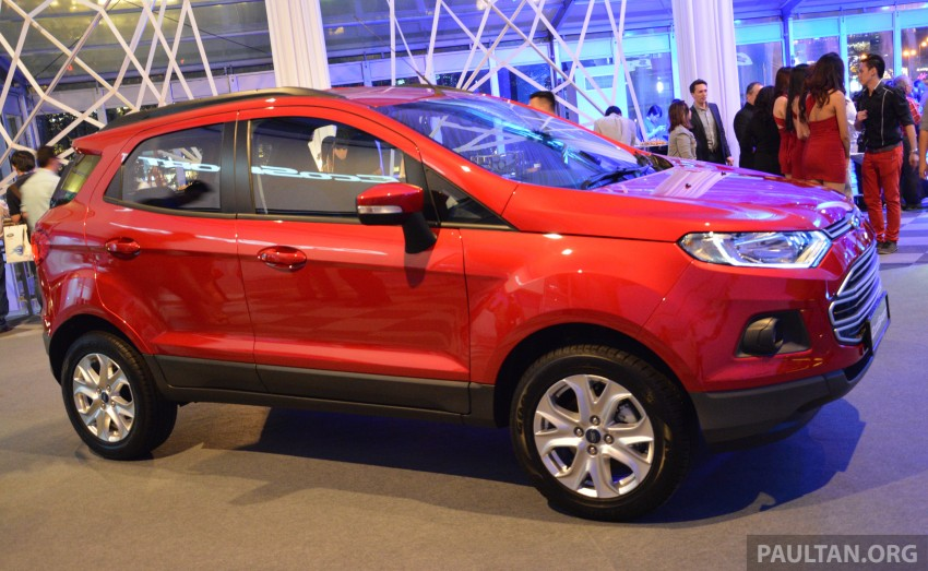 Ford EcoSport launched in Malaysia – RM93k-RM104k Image #266191