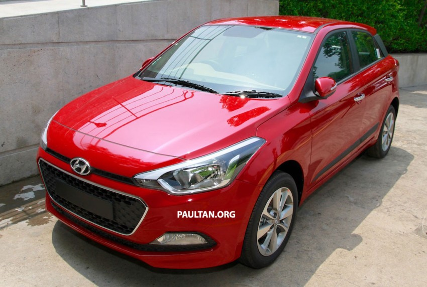 GALLERY: New Hyundai Elite i20 for the Indian market Image #263194