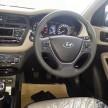 Hyundai i20 spy cabin