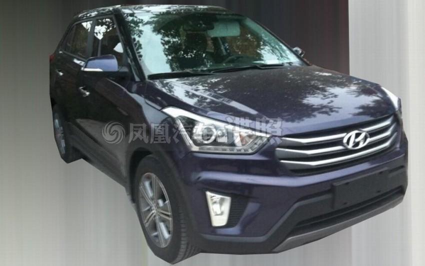 Hyundai ix25 – production B-segment SUV leaked Image #261337