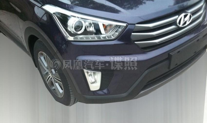 Hyundai ix25 – production B-segment SUV leaked Image #261338