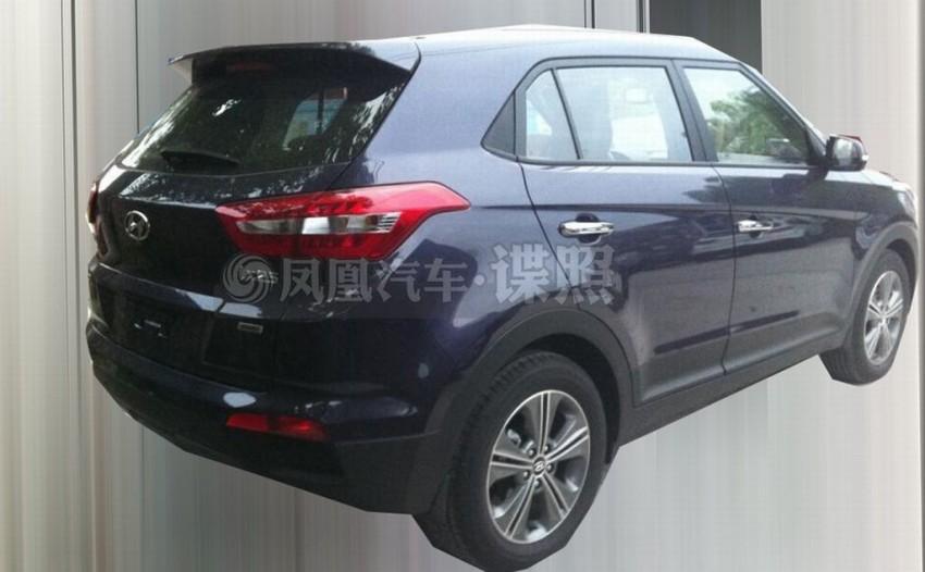Hyundai ix25 – production B-segment SUV leaked Image #261340