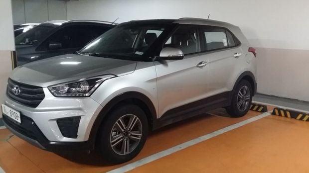 Hyundai-ix25-Spy-Korea