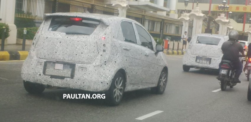 Is the Proton Compact Car bigger than a Honda Jazz? Image #264270