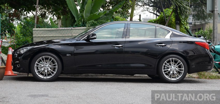 Infiniti Q50 2.0t now in showroom, Merc turbo, RM249k Image #262384