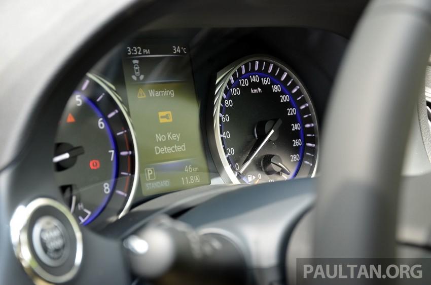 Infiniti Q50 2.0t now in showroom, Merc turbo, RM249k Image #262393