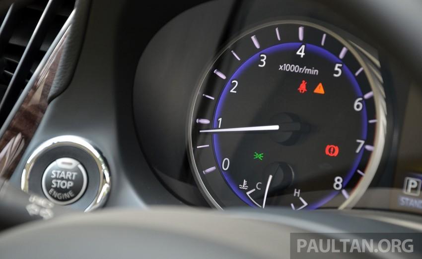 Infiniti Q50 2.0t now in showroom, Merc turbo, RM249k Image #262399