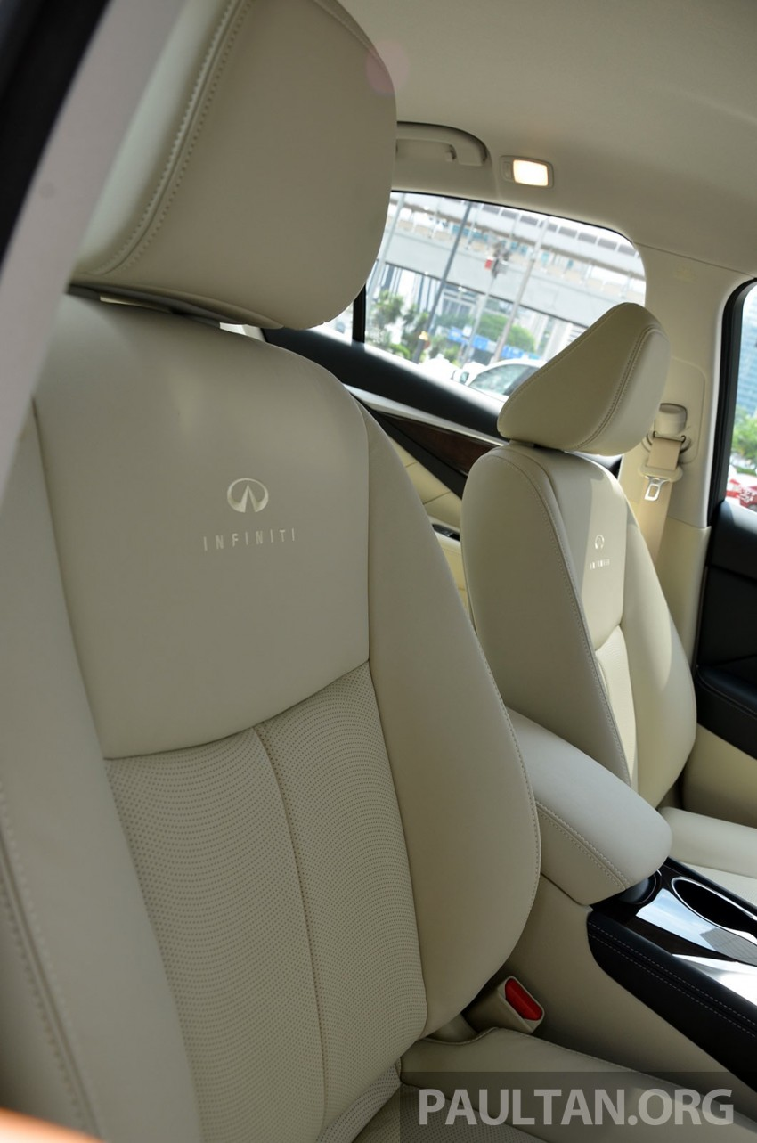 Infiniti Q50 2.0t now in showroom, Merc turbo, RM249k Image #262400