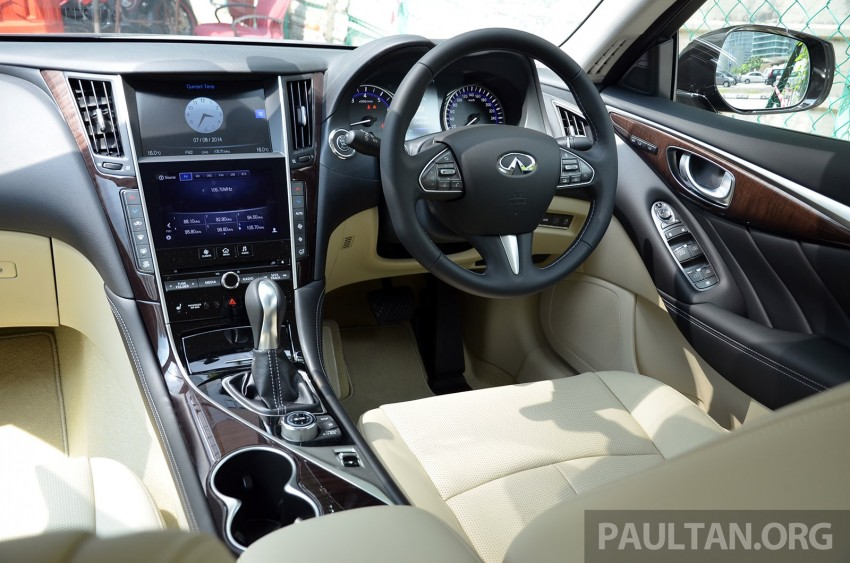Infiniti Q50 2.0t now in showroom, Merc turbo, RM249k Image #262402