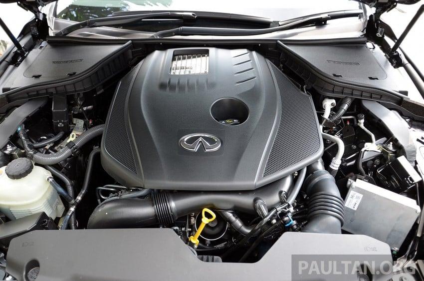 Infiniti Q50 2.0t now in showroom, Merc turbo, RM249k Image #262405