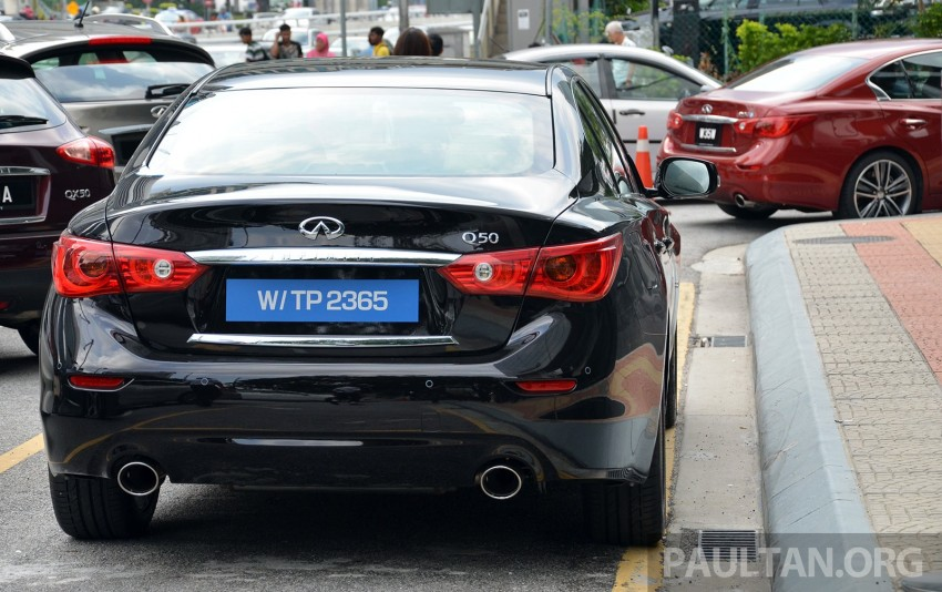 Infiniti Q50 2.0t now in showroom, Merc turbo, RM249k Image #262407