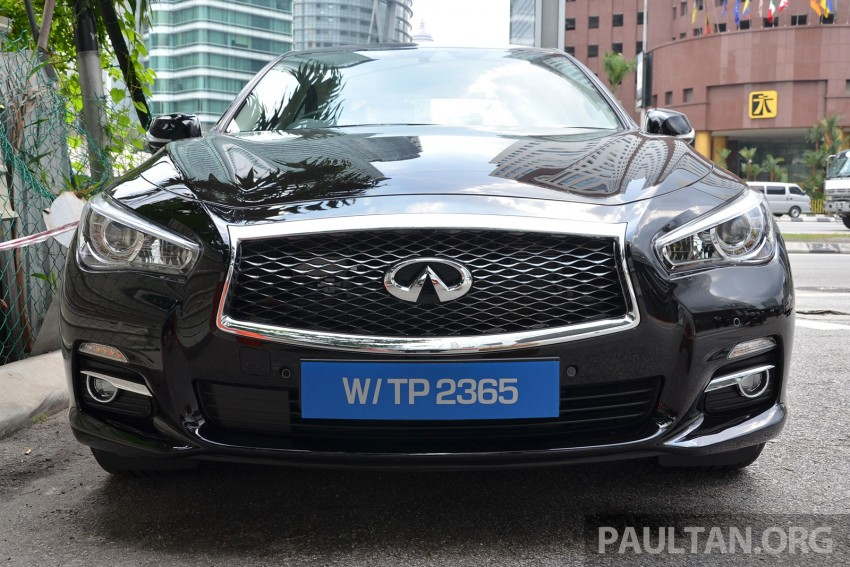 Infiniti Q50 2.0t now in showroom, Merc turbo, RM249k Image #262388