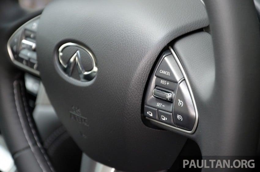 Infiniti Q50 2.0t now in showroom, Merc turbo, RM249k Image #262378
