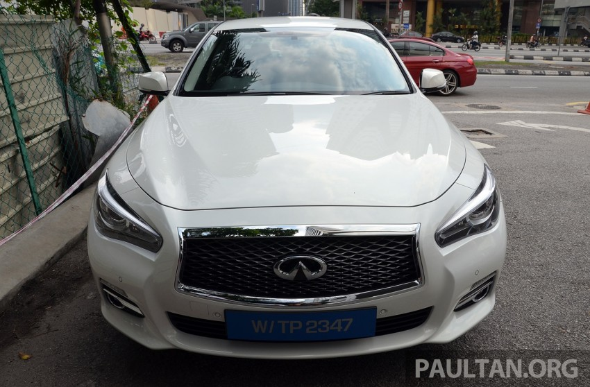 Infiniti Q50 2.0t now in showroom, Merc turbo, RM249k Image #262364