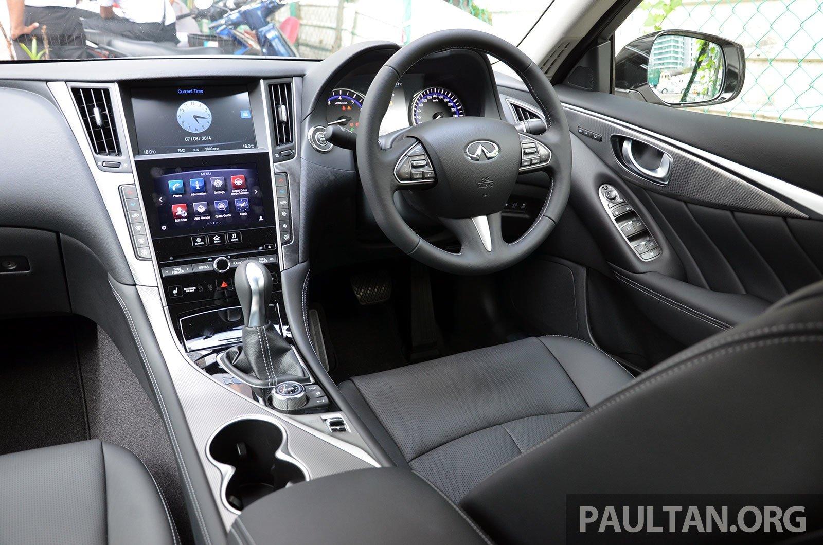 Infiniti Q50 Now In Showroom Merc Turbo Rm249k Paul Tan Image 262382