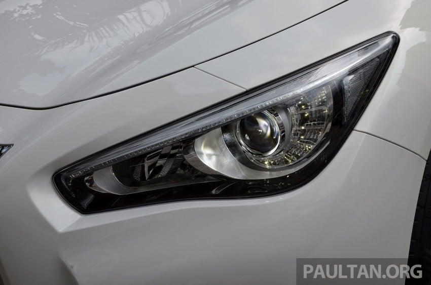 Infiniti Q50 2.0t now in showroom, Merc turbo, RM249k Image #262383