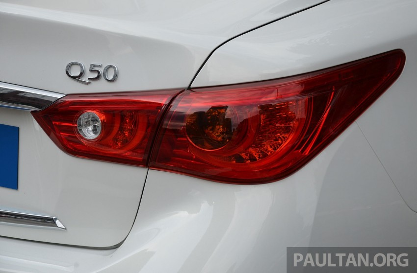 Infiniti Q50 2.0t now in showroom, Merc turbo, RM249k Image #262365