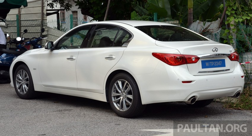 Infiniti Q50 2.0t now in showroom, Merc turbo, RM249k Image #262367