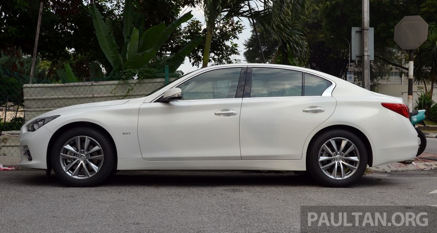 Infiniti Q50 2.0t now in showroom, Merc turbo, RM249k Image #262368