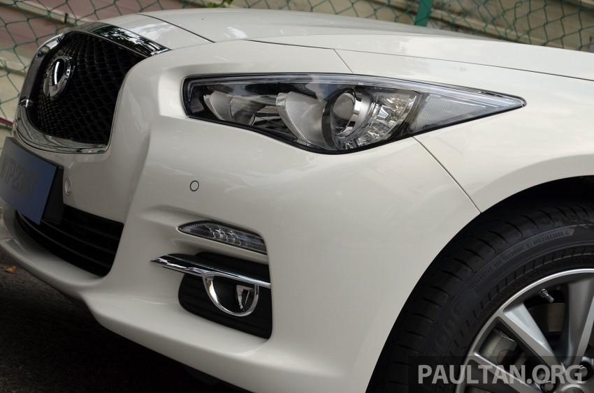 Infiniti Q50 2.0t now in showroom, Merc turbo, RM249k Image #262369