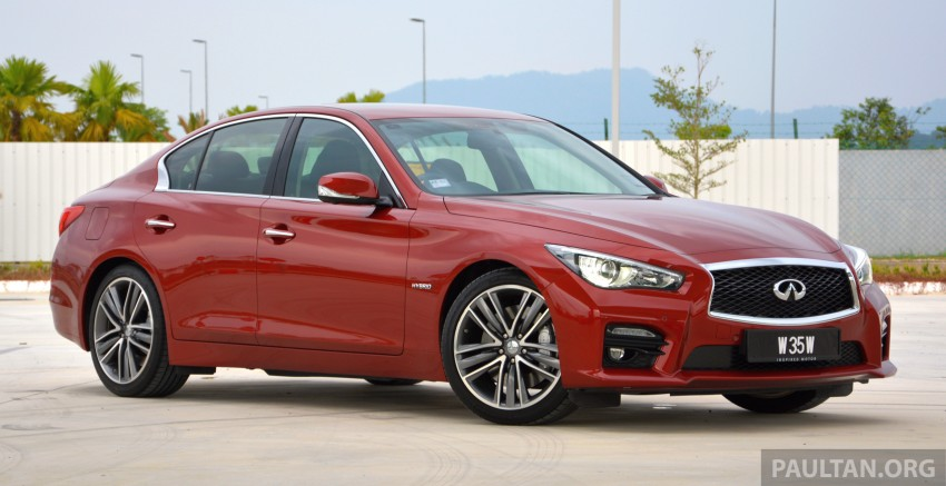 DRIVEN: Infiniti Q50S Hybrid – enter the contender Image #263061