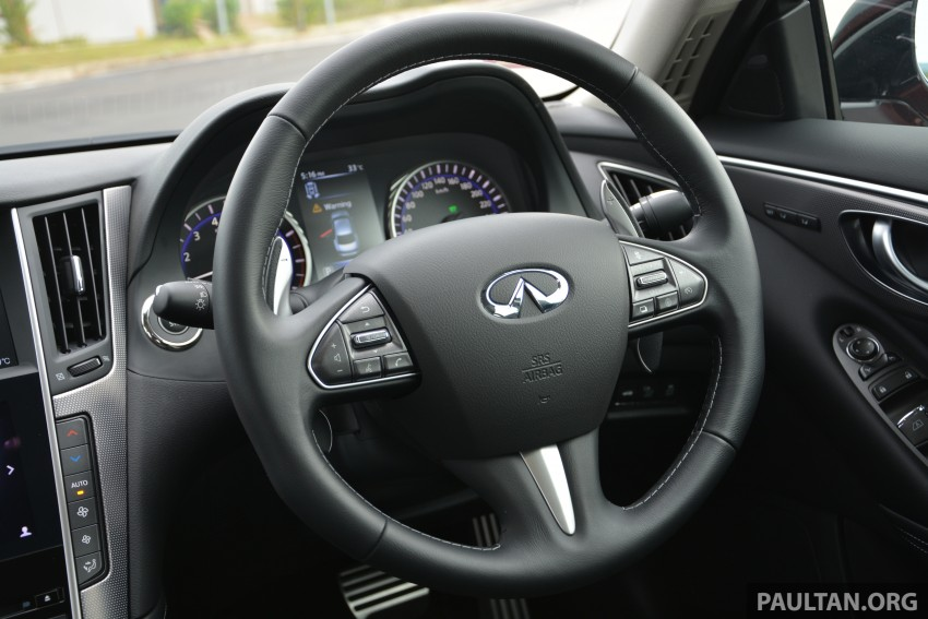 DRIVEN: Infiniti Q50S Hybrid – enter the contender Image #263074