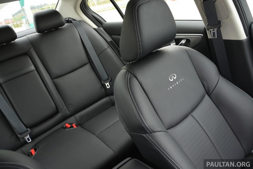 DRIVEN: Infiniti Q50S Hybrid – enter the contender Image #263078