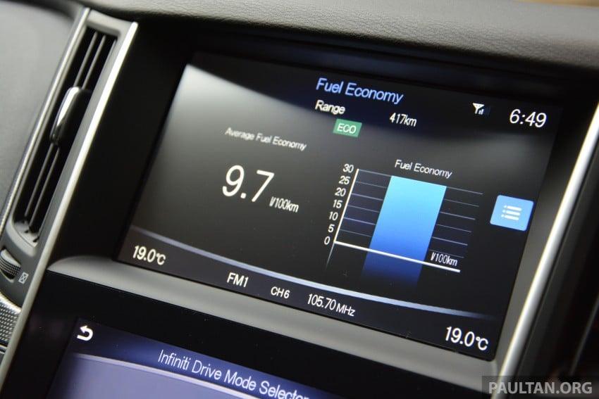 DRIVEN: Infiniti Q50S Hybrid – enter the contender Image #263080