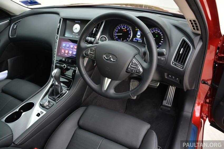 DRIVEN: Infiniti Q50S Hybrid – enter the contender Image #263081