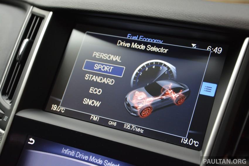 DRIVEN: Infiniti Q50S Hybrid – enter the contender Image #263082