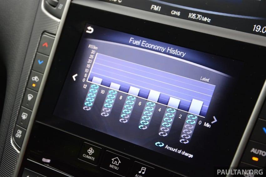 DRIVEN: Infiniti Q50S Hybrid – enter the contender Image #263083
