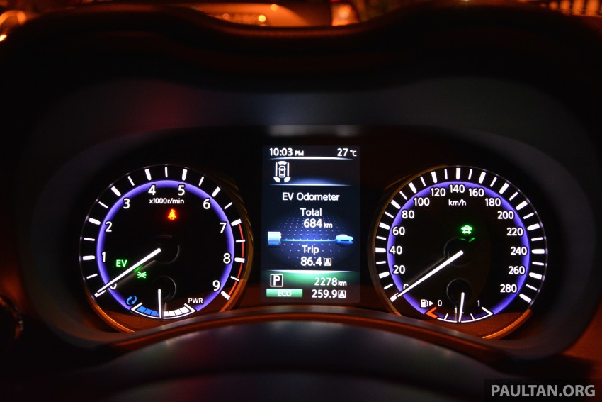 DRIVEN: Infiniti Q50S Hybrid – enter the contender Image #263087