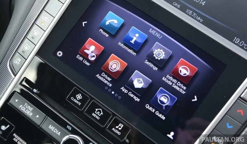 DRIVEN: Infiniti Q50S Hybrid – enter the contender Image #263090