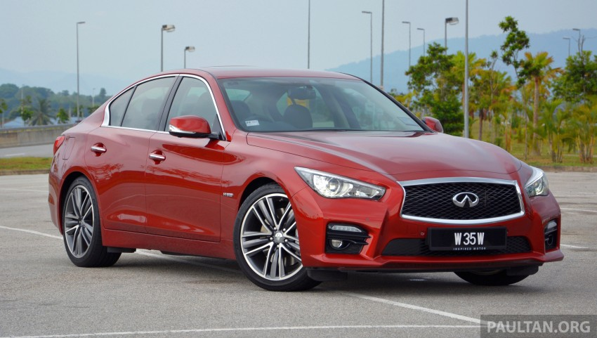 DRIVEN: Infiniti Q50S Hybrid – enter the contender Image #263093