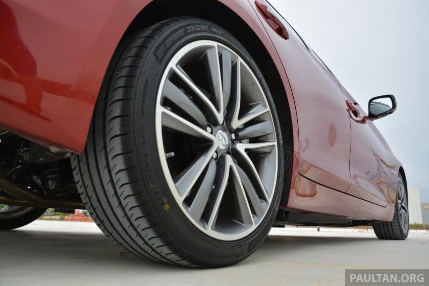 DRIVEN: Infiniti Q50S Hybrid – enter the contender Image #263095