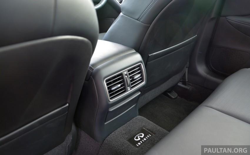 DRIVEN: Infiniti Q50S Hybrid – enter the contender Image #263098