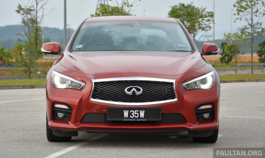 DRIVEN: Infiniti Q50S Hybrid – enter the contender Image #263064