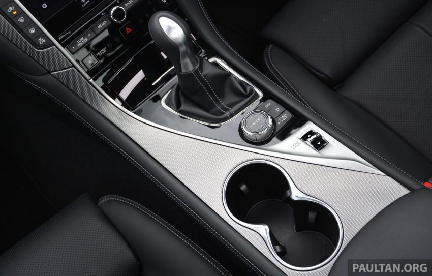 DRIVEN: Infiniti Q50S Hybrid – enter the contender Image #263100