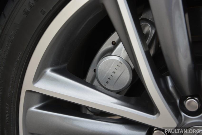 DRIVEN: Infiniti Q50S Hybrid – enter the contender Image #263103