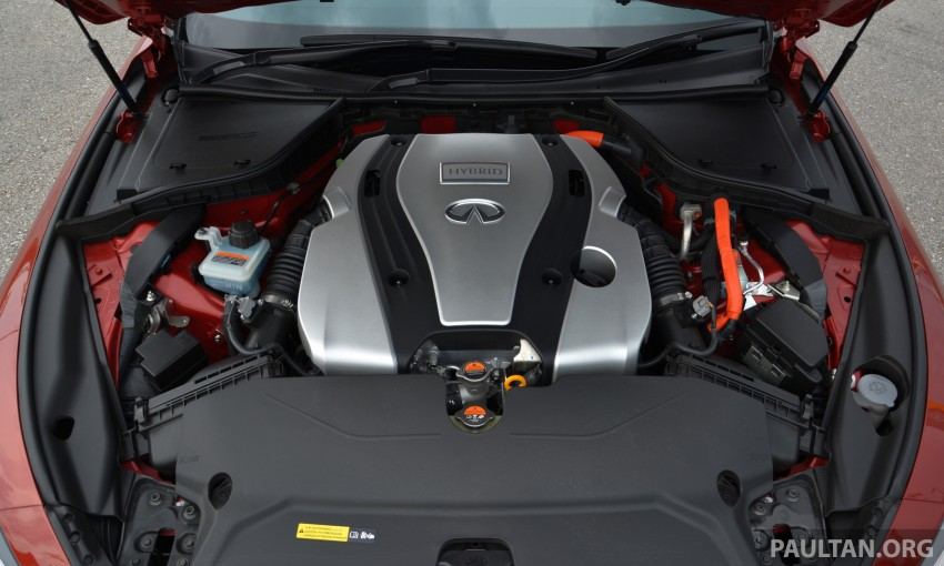 DRIVEN: Infiniti Q50S Hybrid – enter the contender Image #263105