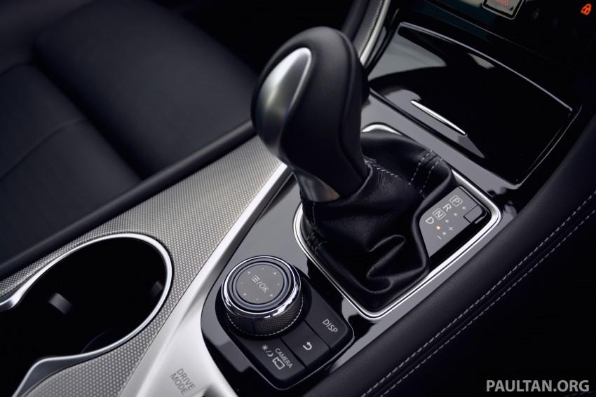 DRIVEN: Infiniti Q50S Hybrid – enter the contender Image #263106