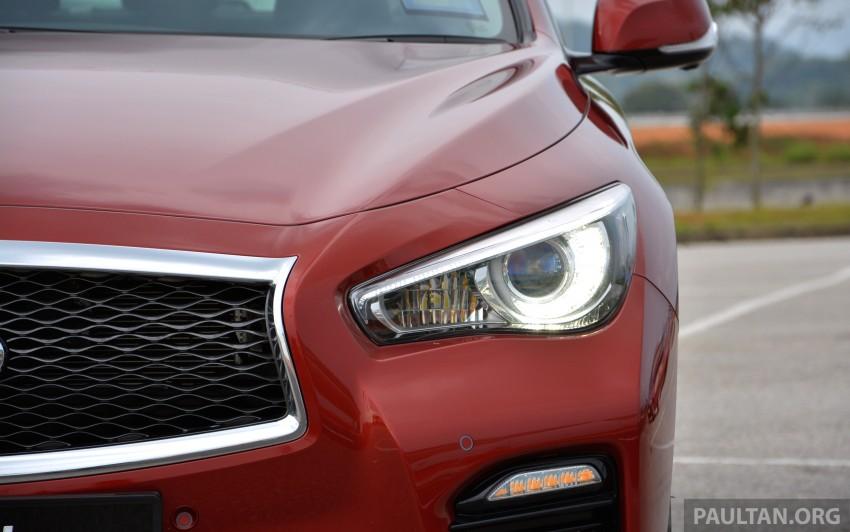 DRIVEN: Infiniti Q50S Hybrid – enter the contender Image #263107