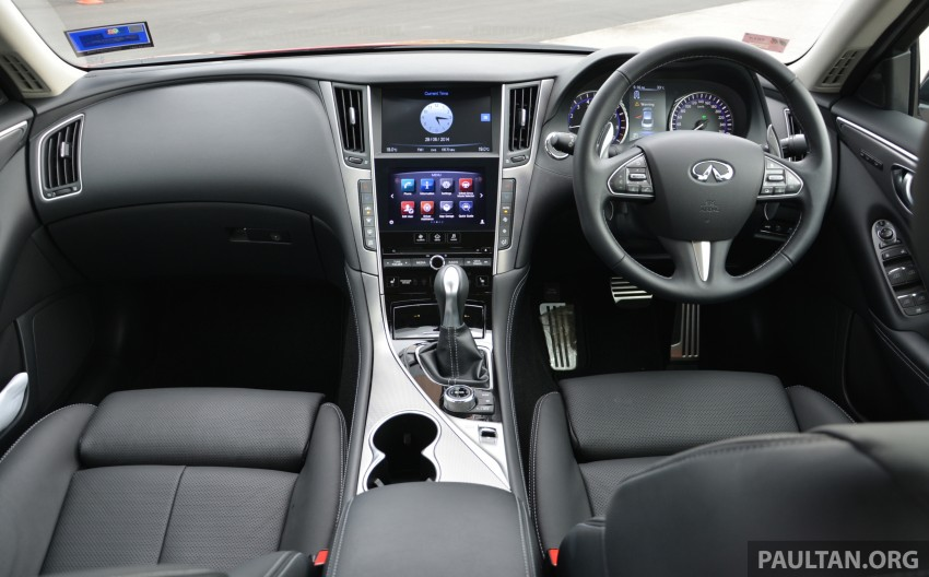 DRIVEN: Infiniti Q50S Hybrid – enter the contender Image #263069