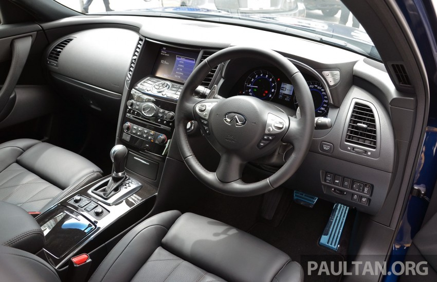 Infiniti QX70S – sport package now available, RM500k Image #266783