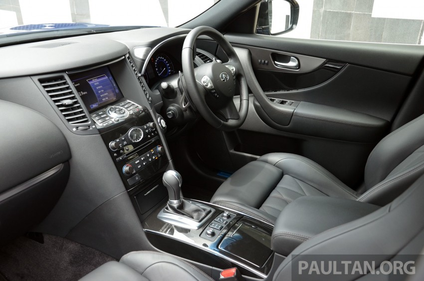 Infiniti QX70S – sport package now available, RM500k Image #266791