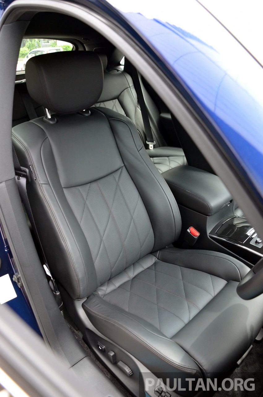 Infiniti QX70S – sport package now available, RM500k Image #266792